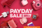 Lazada News – Up to 85% Off this coming Payday Sale! Oct 29-31