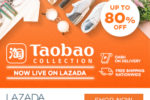 Taobao is now live on Lazada Philippines – Enjoy up to 80% OFF