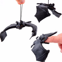 halloween hanging bats decoration