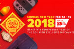 Lazada PH Chinese New Year Sale set from February 13 – 16, 2018