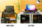How to Improve your Desk Setup – From potato to a clean desk setup