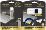 PNY releases USB Drive 3.0 – The Hook Attaché and Wave Turbo