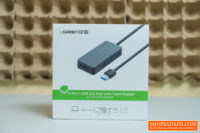 UGreen 3-Port USB 3.0 Hub with Card Reader Review