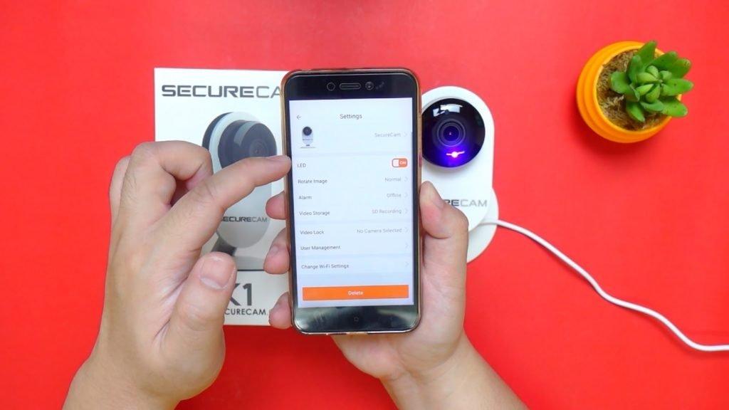 x1 wifi securecam review