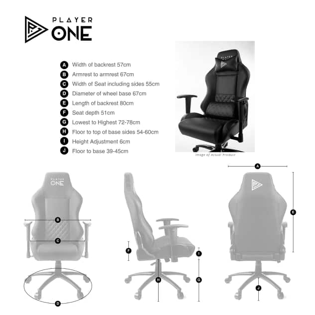 player one gaming chair