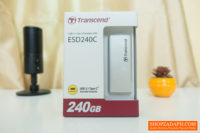 Transcend ESD240C Portable SSD 240GB Review – Compact and Stylish!