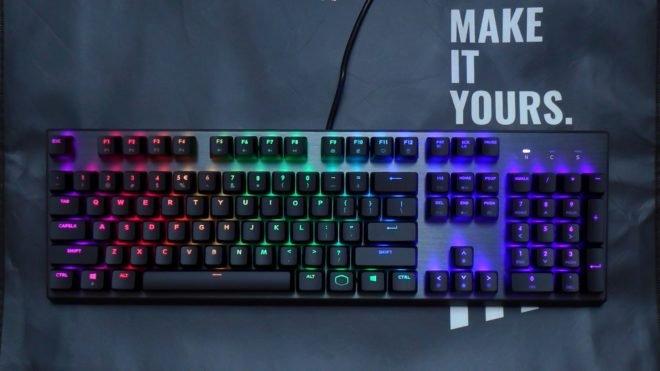 cooler master ck350 keyboard LED RGB