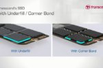 Transcend Recommends Corner Bond and Underfill to Increase Reliability for its Embedded Products