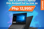 Lenovo announces limited-time cash rebate on select devices
