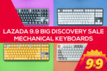 Lazada Big Discovery Sale 2019 – Mechanical Keyboards Sale!