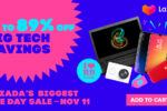 Tech Deals on Lazada 11.11 Biggest One Day Sale 2019!