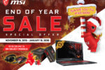 MSI's End of Year Sale is Here!