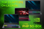 Top Gaming Laptops below PHP 80K on Lazada That's Worth Checking Out!