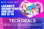 Tech Deals on Lazada 12.12 Grand Year-End Sale 2019!
