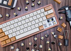 How to Build a Custom Keyboard – The EASIEST way! – Wooden GK61 + Mars Colony Keycaps