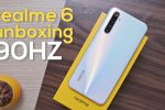 realme 6 Unboxing and First Impressions – 90Hz Display!