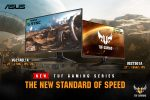 ASUS Expands Their TUF Gaming Monitor Roster With Two New Additions