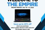 Lenovo Legion welcomes gamers to join 'The Empire'