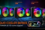 AORUS LIQUID COOLER Series Push Core™ i9 10900K to All-core 5.2GHz