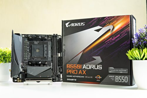 Aorus B550I Pro AX Mini-ITX Motherboard Unboxing and Overview