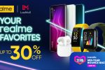 realme offers up to 41% in discounts at the Lazada Midyear Sale