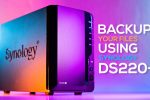 Synology DS220+ NAS Review and Backup Setup Guide!