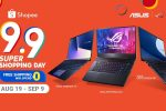ASUS and ROG Join the Shopee 9.9 Super Shopping Day!
