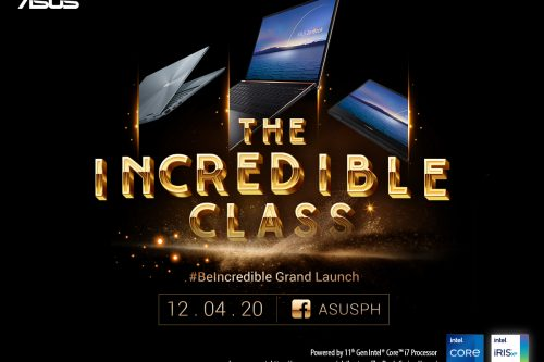 Get Ready To #BeIncredible With The All-New Intel Powered ASUS ZenBook Series, Starting December 5, 2020