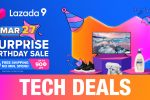 Tech Deals and Vouchers on Lazada's 9th Birthday Sale! – March 27, 2021