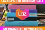 My Recommended Mechanical Keyboards on Lazada's 9th Birthday Sale! – March 27, 2021