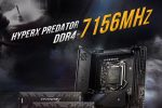 Kingston HyperX and MSI Set another New DDR4 OverclockingWorld Record at 7200MHz