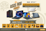 Make it a Summer to Remember With The ASUS/ROG Summer Kick-OFF Promo, April 29 to May 30, 2021