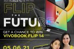 Flip the Future and Get a chance to Win an ASUS VivoBook Flip 14 on May 06, 2021!