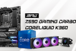 Unbeatable Combo with MSI MPG Z590 Gaming Carbon WIFI and MPG CORELIQUID K360