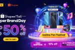 Get the biggest discounts and deals of up to 50% OFF in realme's Shopee Super Brand Day Sale