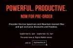 Pre-order the Eve Spectrum and Mountain Everest Max and get exclusive discounts and freebies.
