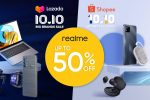 Upgrade your TechLife and score up to P7,000 off on realme devices this 10.10