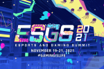 Expanding its digital reign, ESGS is back in November!