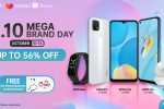 Enjoy Up to 56% off on your favorite OPPO Gadgets at the 10.10 Mega Sale on Shopee and Lazada!